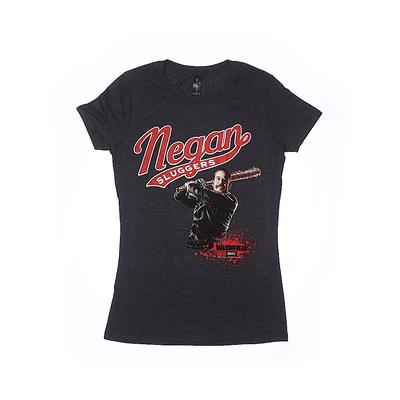 Assorted Brands Short Sleeve T-Shirt: Black Tops - Size X-Small