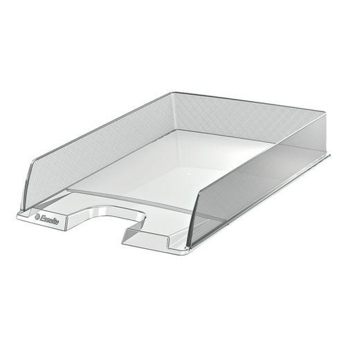 Briefkorb »Europost« transparent, Leitz, 25.4x6.1x35 cm