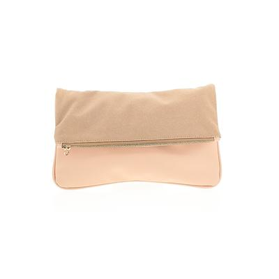 Who What Wear Clutch: Tan Solid Bags