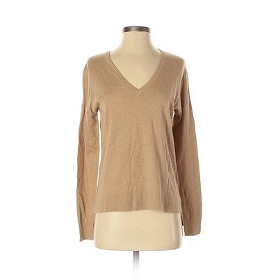 Gap Pullover Sweater: Tan Solid Tops - Size X-Small