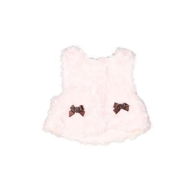 Vitamins Vest: Pink Solid Jacket...