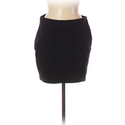 Old Navy Casual Skirt: Black Sol...