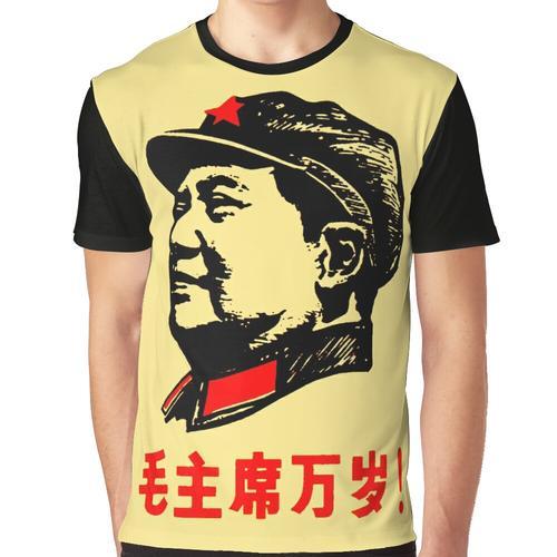 CHAIRMAN MAO 6 Graphic T-Shirt
