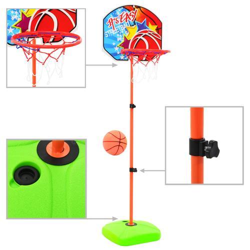 vidaXL Kinder Basketballkorb und Ball Set