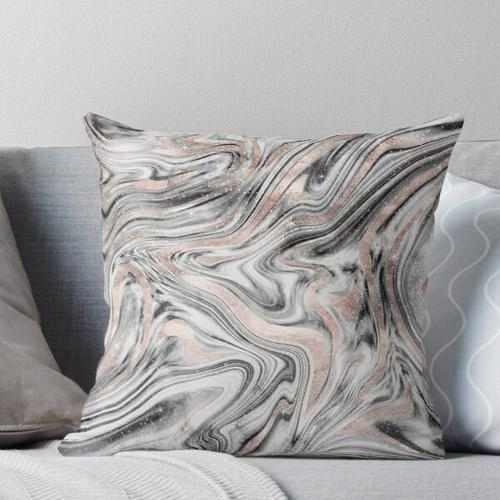 Bohemian Marble Dream # 2 #decor #art Kissen