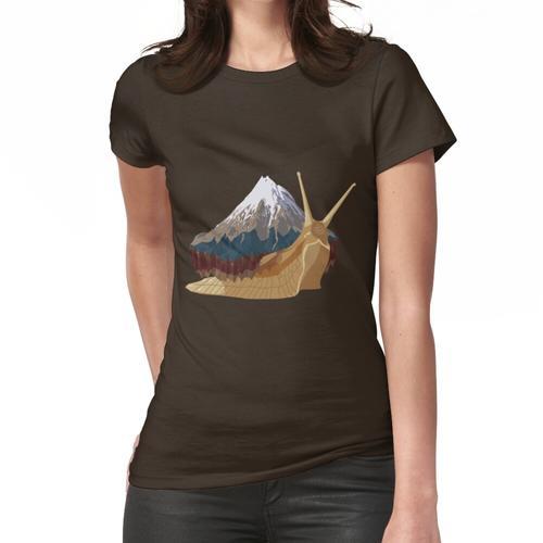 Bergschnecke Frauen T-Shirt