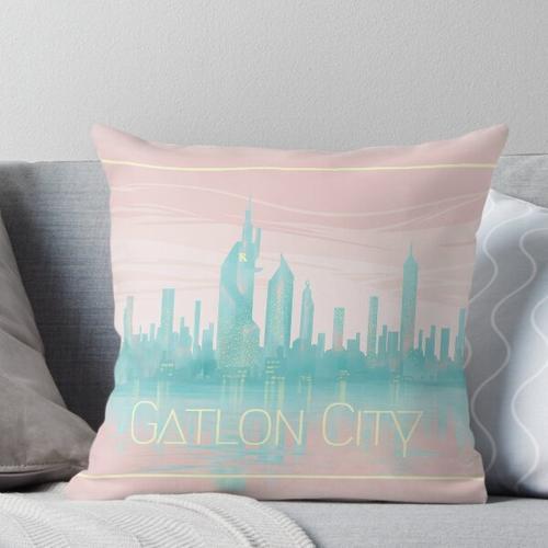 Gatlon City Kissen