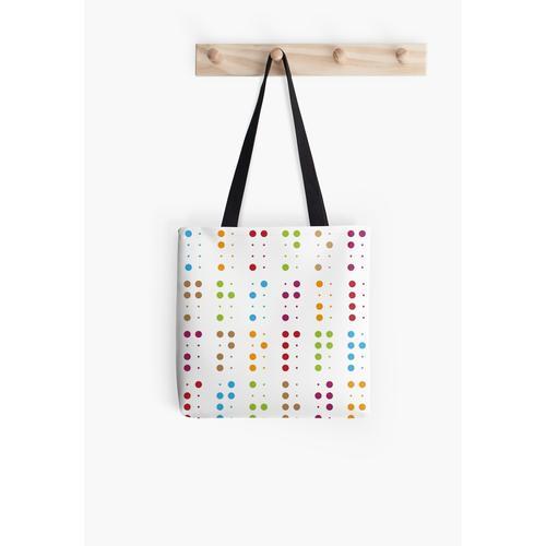 Braille-Musterdruck Tasche