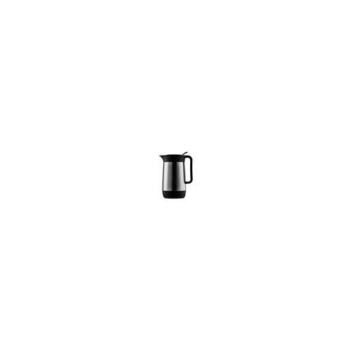 Isolierkanne Contur Push 0,6 l mattiert