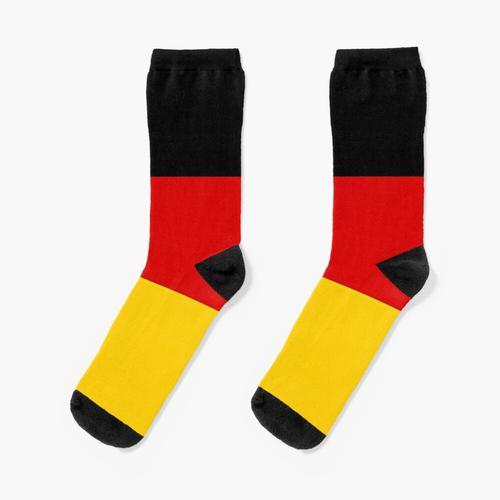Deutsche Flagge - Flagge von Deutschland Socken