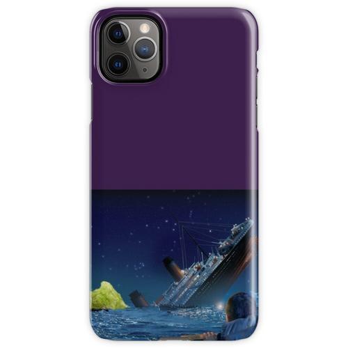 Titanic, der ein Stück Eisbergsalat schlägt iPhone 11 Pro Max Handyhülle