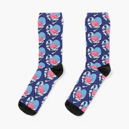 Verrückte Trigger Crew Heartshape Socken