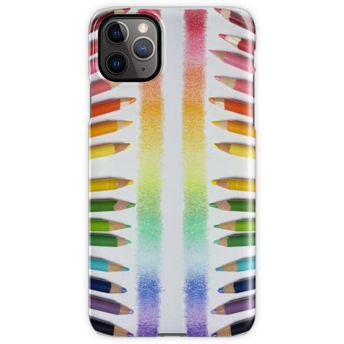 Buntstift Regenbogen iPhone 11 Pro Max Handyhülle