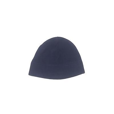 Lands' End Beanie Hat: Blue Soli...