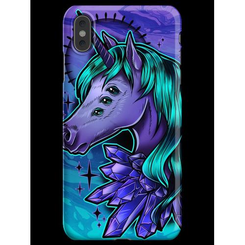 Kristall Einhorn iPhone XS Max Handyhülle