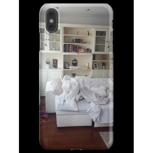 Ungemachtes Bett iPhone XS Max Handyhülle