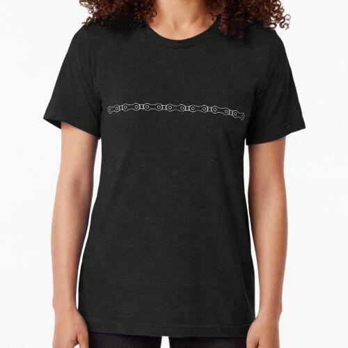 Fahrrad-Kettenlinie Vintage T-Shirt