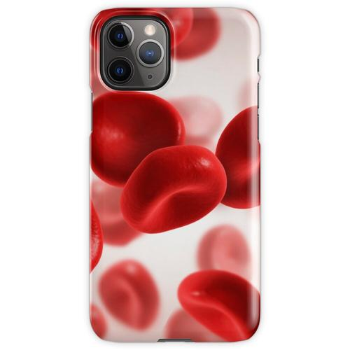 Mikroskopische Ansicht von Blutzellen. iPhone 11 Pro Handyhülle
