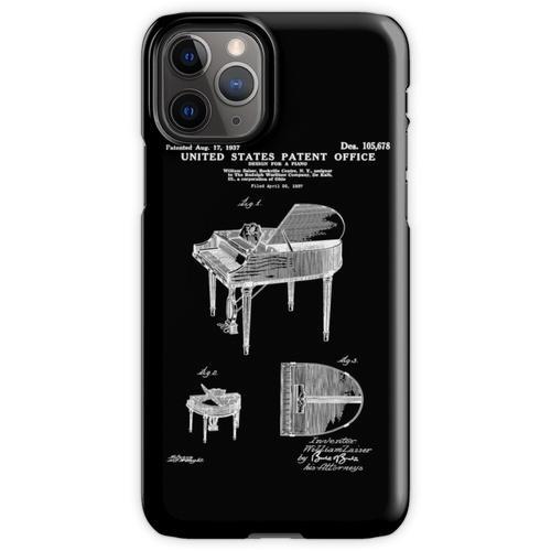 Wurlitzer Klavierpatent weiß iPhone 11 Pro Handyhülle