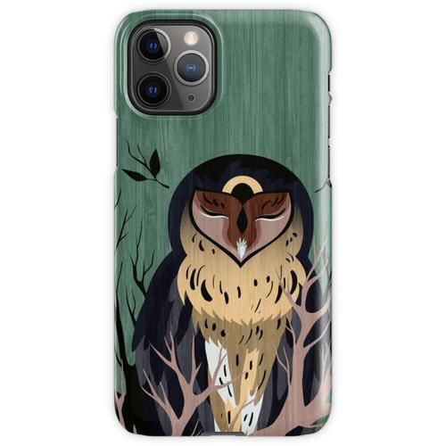 Holzeule iPhone 11 Pro Handyhülle