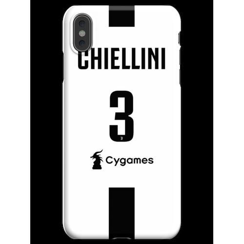 CHIELLINI JUVE iPhone XS Max Handyhülle