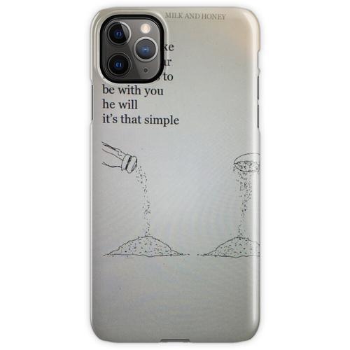 Salz für Zucker iPhone 11 Pro Max Handyhülle