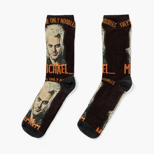 Die verlorenen Nudeln Socken