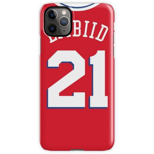 Joel Embiid 76ers Rotes Trikot iPhone 11 Pro Max Handyhülle
