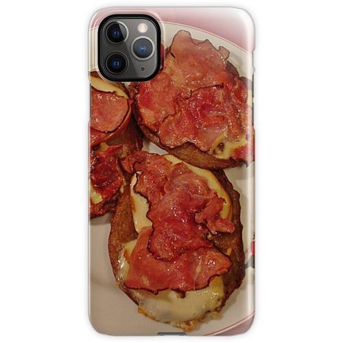 Kartoffelpuffer mit Käse und Speck ... Guten Appetit! iPhone 11 Pro Max Handyhülle