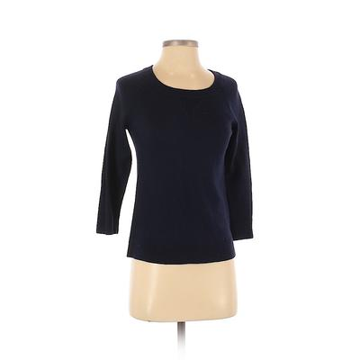 Gap Pullover Sweater: Blue Solid...
