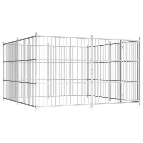 vidaXL Outdoor-Hundezwinger 300×300×185 cm