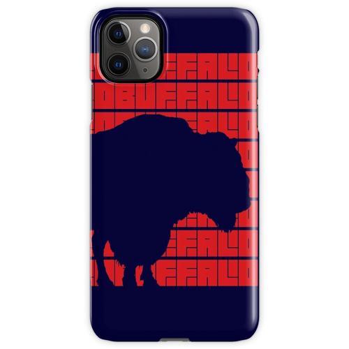 Büffel Büffel Büffel Büffel Büffel Büffel Büffel Büffel. (Rot) iPhone 11 Pro Max Handyhülle