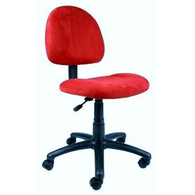 Boss Norstar B325 Deluxe Posture Chair - Red