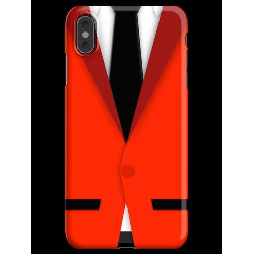 Jersey Jungen Anzug iPhone XS Max Handyhülle