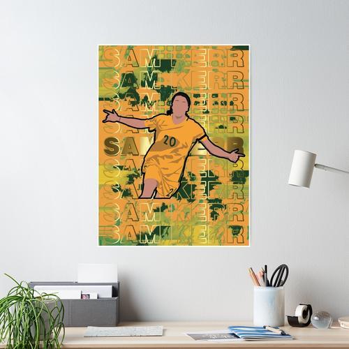 Sam Kerr Australien Poster / Print Poster