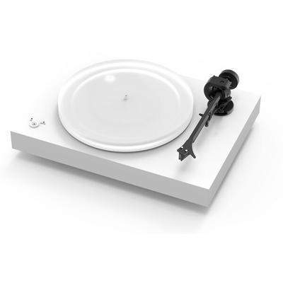 Pro-Ject X2 Satin White turntable w/ Moonstone cartridge