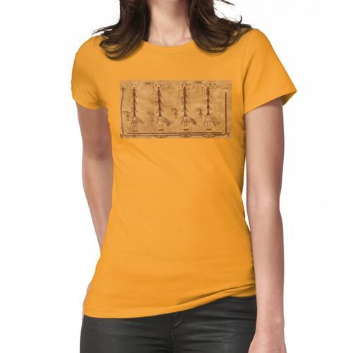 Navajo-Sandmalerei. Frauen T-Shirt