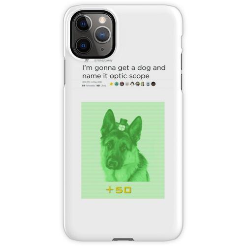 NakeyJakey - Optikumfang iPhone 11 Pro Max Handyhülle