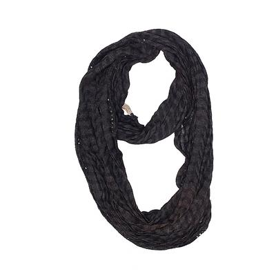 Collection 18 Scarf: Black Solid...