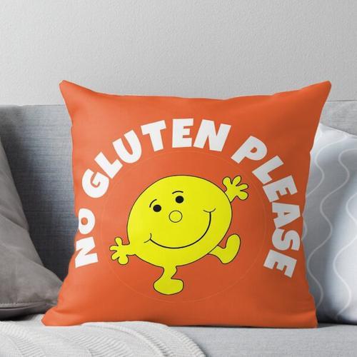 Kein Gluten bitte T-Shirt - Kein Gluten bitte T-Shirt - Kein Gluten bitte T-Shirt - Kein Glut Kissen