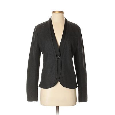Simply Vera Vera Wang Wool Blazer Jacket: Gray Jackets & Outerwear - Size Small