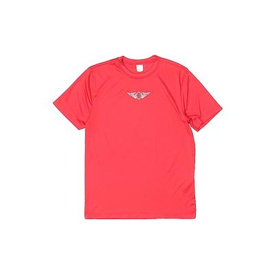 Sport-Tek by Port Authority Active T-Shirt: Red Solid Sporting & Activewear - Size Medium