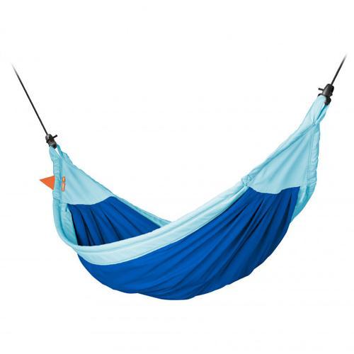 La Siesta - Moki - Hängematte Gr 350 x 160 cm blau/türkis/grau