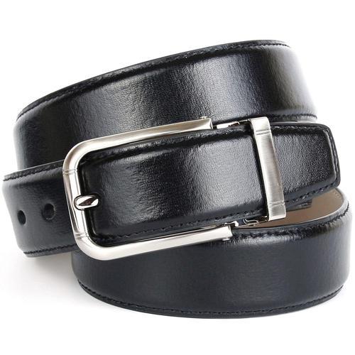 Anthoni Crown Ledergürtel, mit hochwertiger Schließe schwarz Damen Ledergürtel Gürtel Accessoires