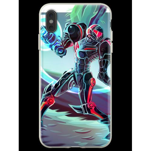 Phazon-Anzug Flexible Hülle für iPhone XS Max