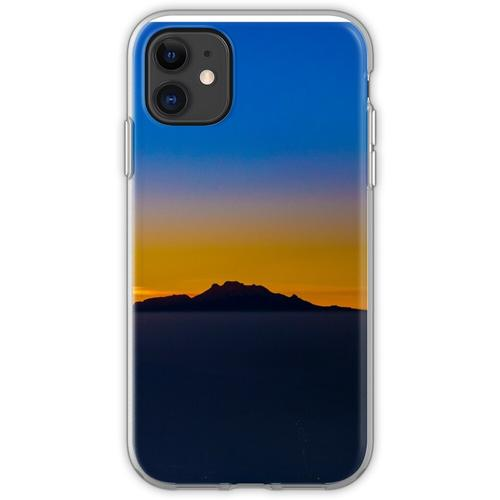 Popocatepetl und Iztaccihuatl Flexible Hülle für iPhone 11