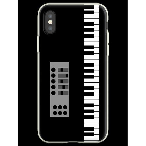 Keyboard Klavier Flexible Hülle für iPhone XS