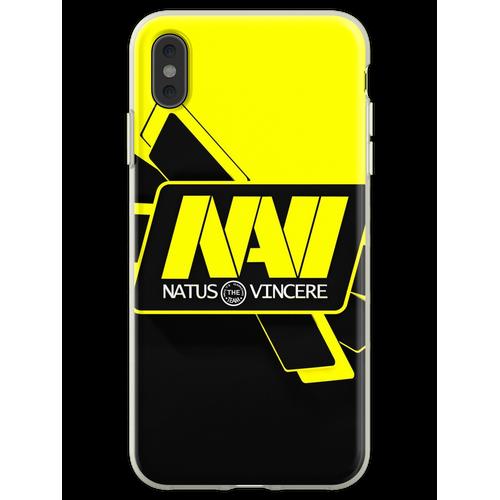 Navi csgo Flexible Hülle für iPhone XS Max