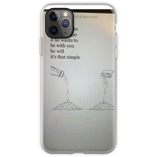 Salz für Zucker Flexible Hülle für iPhone 11 Pro Max