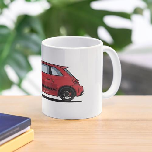 Abarth 595 Red Mug